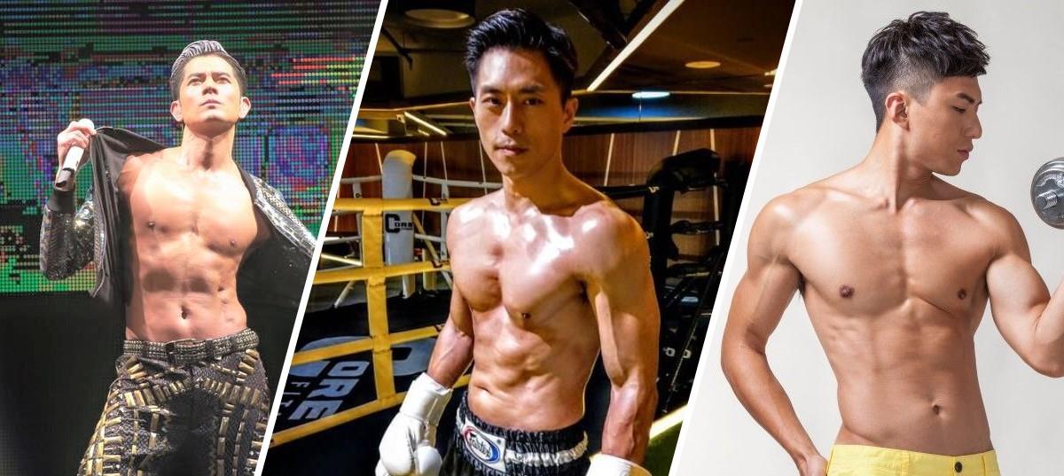 搵定張紙巾抺口水!香港最肌男藝人