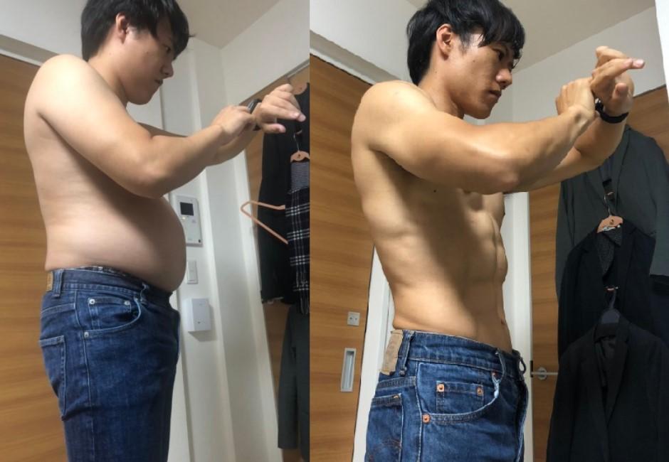 每天只要4分鐘!日本網友5個月瘦出六塊肌…影片曝光