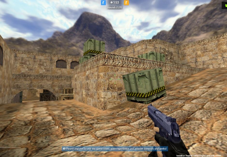 連假在家隨時約戰!經典遊戲「CS絕對武力」用瀏覽器就能玩!
